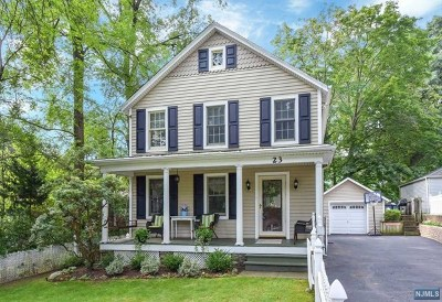 Wyckoff Single Family Home For Sale: 23 Wyckoff Avenue