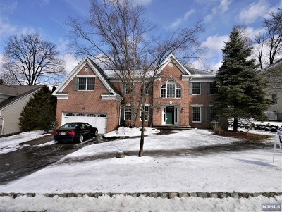 Woodcliff Lake Single Family Home For Sale: 22 Stonewall Court