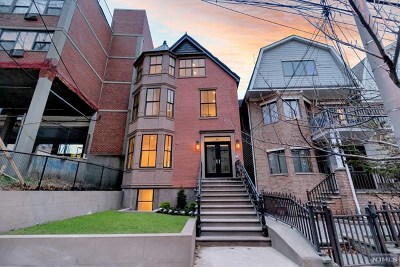 Jersey City Condo/Townhouse For Sale: 618 Montgomery Street #1