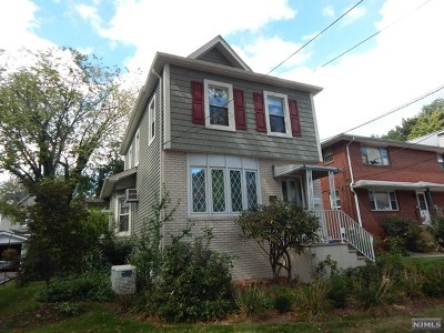 Rutherford Single Family Home For Sale: 38 Elm Street