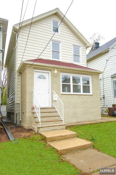 Hudson County Single Family Home For Sale: 442 Forest Street