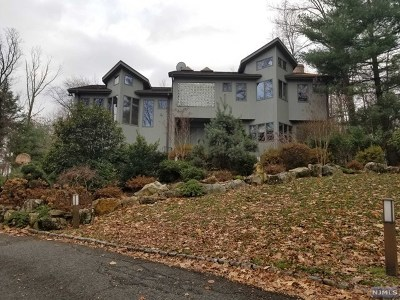 Woodcliff Lake Single Family Home For Sale: 15 Mill Road Extension