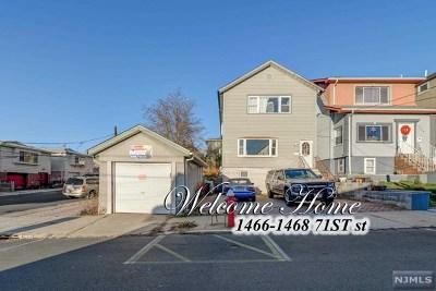 North Bergen Multi Family 2-4 For Sale: 1466 71st Street