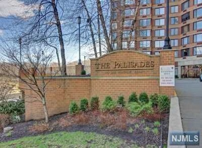 Fort Lee Condo/Townhouse For Sale: 100 Old Palisade Road #1112