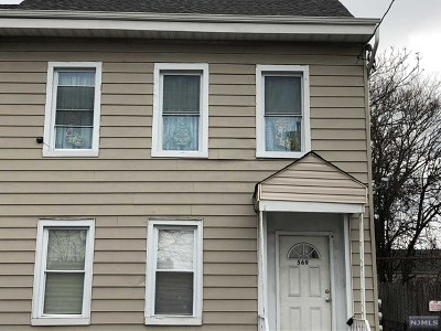 Paterson Multi Family 2-4 For Sale: 569 Summer Street