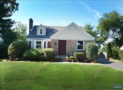 River Edge Single Family Home For Sale: 157 Adams Avenue