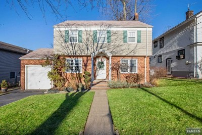 Hasbrouck Heights Single Family Home For Sale: 145 Madison Avenue