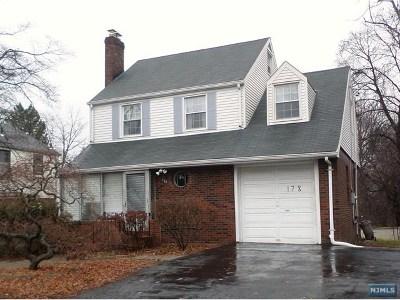 Leonia Single Family Home For Sale: 178 Broad Avenue