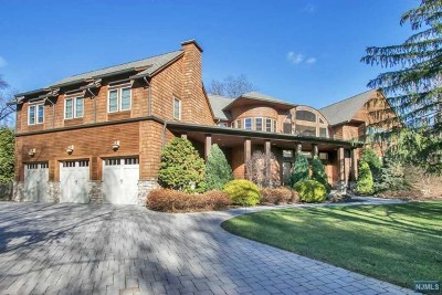 Old Tappan NJ Single Family Home For Sale: $1,998,777