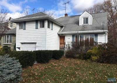 Hasbrouck Heights NJ Single Family Home For Sale: $274,900