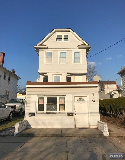 Ridgefield Park Multi Family 2-4 For Sale: 50 College Place