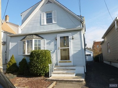 Garfield NJ Single Family Home For Sale: $269,900