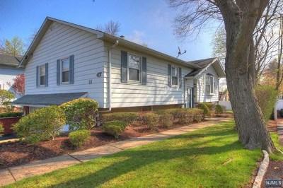 Park Ridge Single Family Home For Sale: 47 Kinderkamack Road