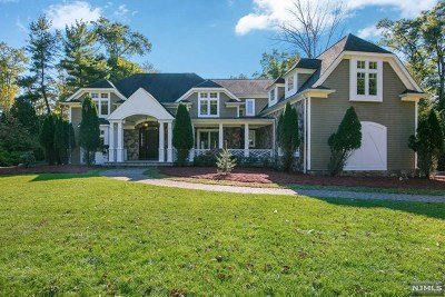 Upper Saddle River NJ Single Family Home For Sale: $1,200,000