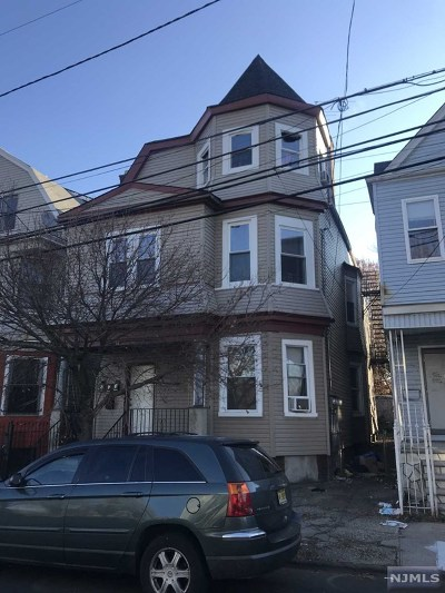 Newark NJ Multi Family 2-4 For Sale: $165,000