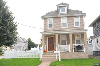 Ridgefield Park Single Family Home For Sale: 37 Gordon Street