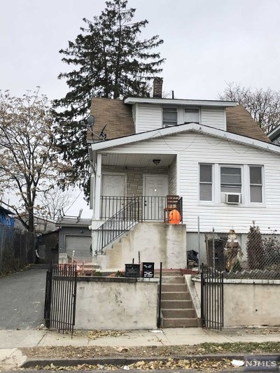 Paterson Multi Family 2-4 For Sale: 738 East 28th Street
