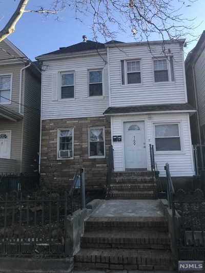 Passaic Multi Family 2-4 For Sale: 169 Harrison Street