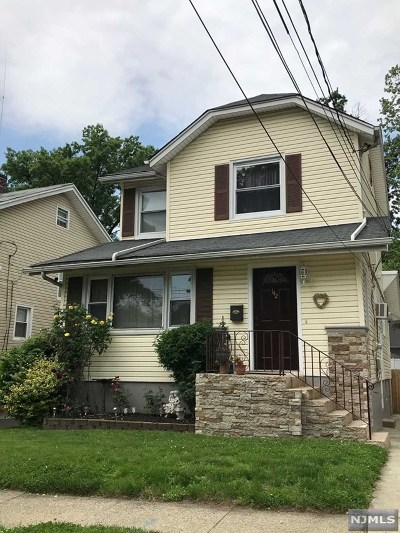 Ridgefield Park Single Family Home For Sale: 142 4th Street