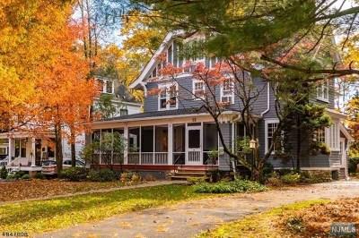 Essex County Single Family Home For Sale: 52 Oakwood Avenue