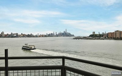 Weehawken Condo/Townhouse For Sale: 600 Harbor Boulevard #1008