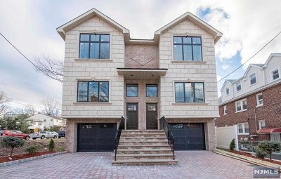 Cliffside Park Condo/Townhouse For Sale: 418 Aurora Avenue