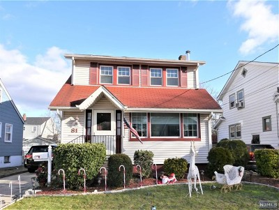 Bergenfield Single Family Home For Sale: 81 Haring Street