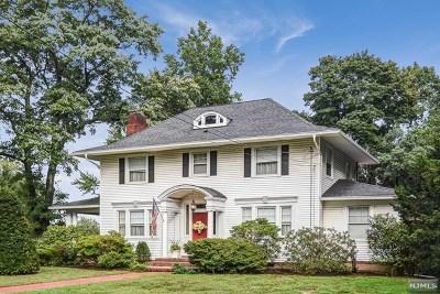 Glen Rock Single Family Home For Sale: 599 Lincoln Avenue