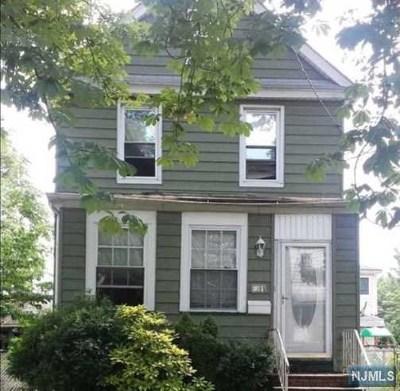 Ridgefield Park Single Family Home For Sale: 109 Brinkerhoff Street