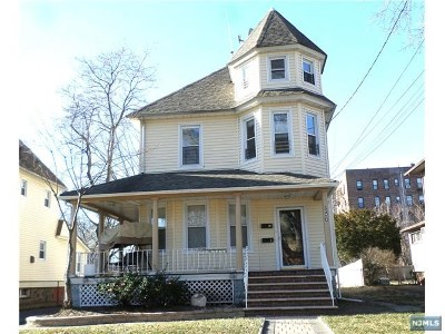 Ridgefield Park Multi Family 2-4 For Sale: 156 Euclid Avenue