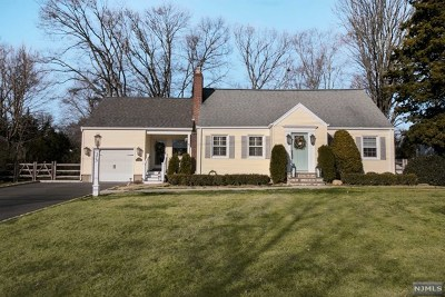 Wyckoff Single Family Home For Sale: 373 Sunset Boulevard