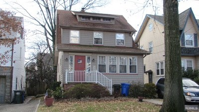 Rutherford Single Family Home For Sale: 54 Van Riper Avenue