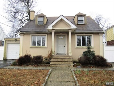 Hackensack Single Family Home For Sale: 459 Parker Avenue