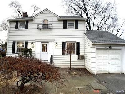 Fair Lawn Single Family Home For Sale: 21 Ramapo Terrace