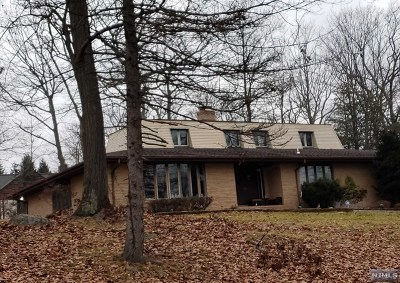 Franklin Lakes Single Family Home For Sale: 801 Trailing Ridge Road