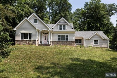 Upper Saddle River Single Family Home For Sale: 10 Fieldstone Lane