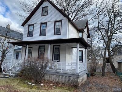 Ridgefield Park Single Family Home For Sale: 15 Hudson Avenue