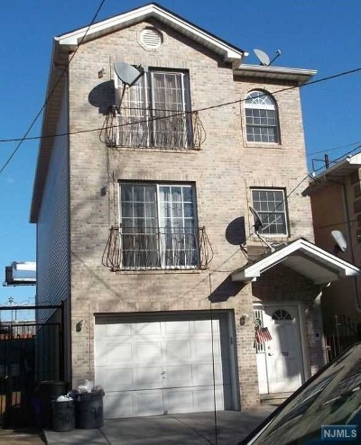 Newark NJ Multi Family 2-4 For Sale: $650,000