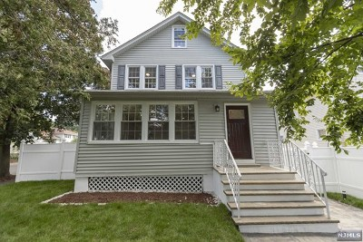 Bergenfield Single Family Home For Sale: 172 West Central Avenue