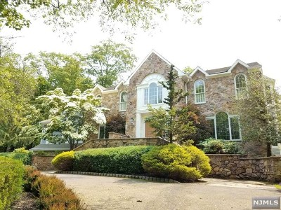 Franklin Lakes Single Family Home For Sale: 718 Horseshoe Trail