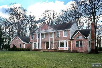 Woodcliff Lake Single Family Home For Sale: 91 Blueberry Drive