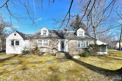 Upper Saddle River Single Family Home For Sale: 349 Lake Street