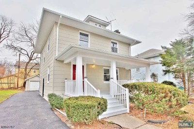 Essex County Single Family Home For Sale: 148 Seton Place
