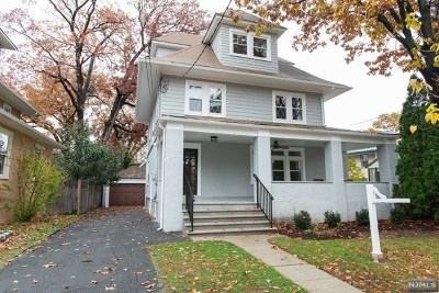 Essex County Single Family Home For Sale: 35 Lenox Terrace