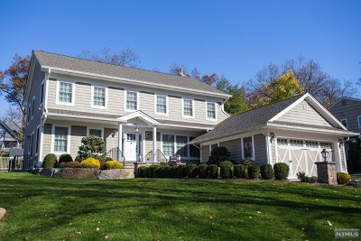 Tenafly Single Family Home For Sale: 23 Sisson Terrace