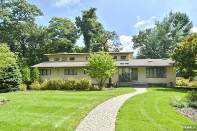 Upper Saddle River Single Family Home For Sale: 2 Fieldstone Lane