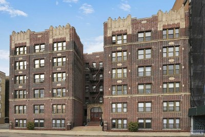 Weehawken Condo/Townhouse For Sale: 883 Boulevard East #4g