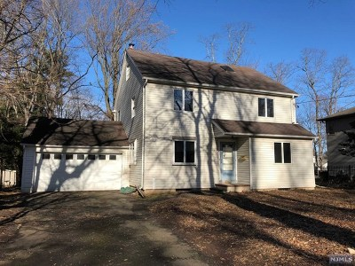 Closter NJ Single Family Home For Sale: $505,000