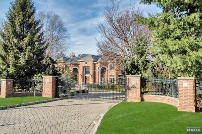 Englewood Cliffs Single Family Home For Sale: 550 Summit Street