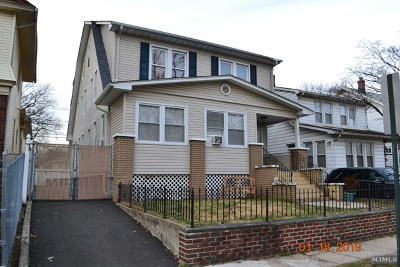 Essex County Multi Family 2-4 For Sale: 119 North 17th Street